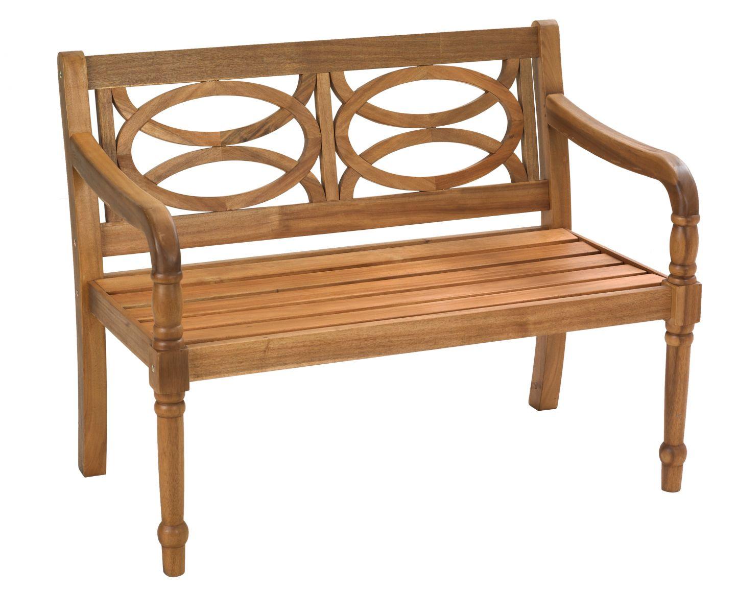 Cleobury Acacia hardwood 2 seater bench £199
