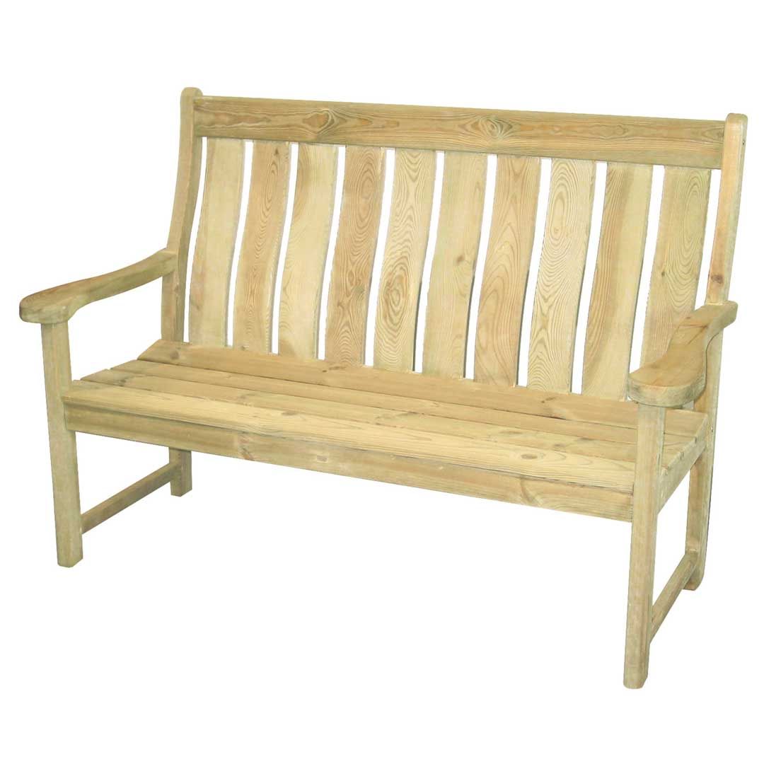 Farmers High Back Pine 5ft bench £249